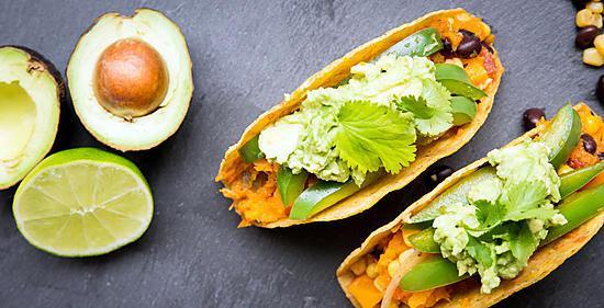 recette Tacos végétalien à la courge butternut (sans gluten)