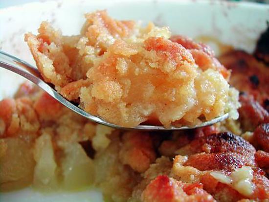 recette Crumble à la réglisse de pommes & poires