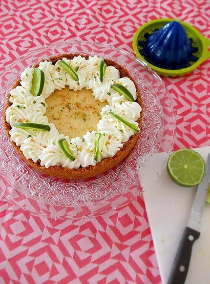recette de key lime pie tarte au citron vert. Black Bedroom Furniture Sets. Home Design Ideas