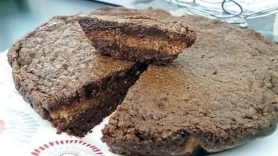 recette Pave au chocolat amandes