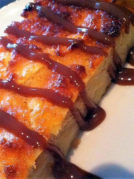 recette Gâteau invisible pommes-amandes