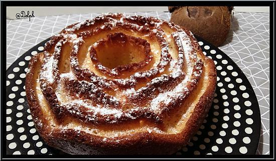 recette Gâteau au yaourt et à la noix de coco