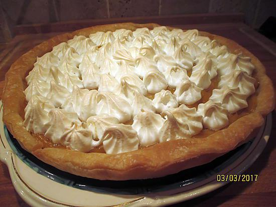 recette tarte au citron meringuée avec ou sans gluten