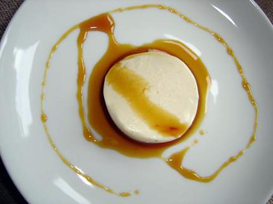 recette Panna Cotta à la douce cannelle nappée au caramel maison
