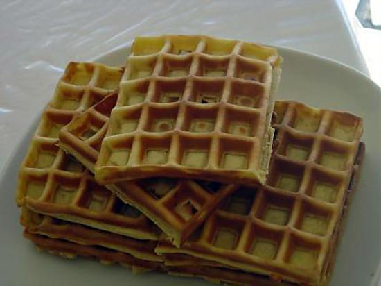 recette Gauffres à l'ancienne (recette de ma grand-mère)