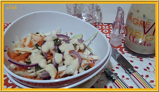 recette Salade croquante d'hiver