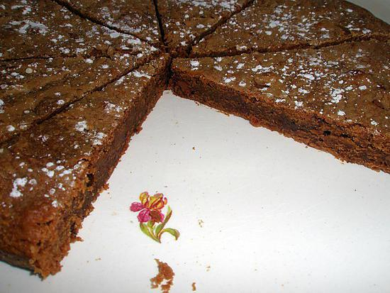recette Fondant au chocolat caramel