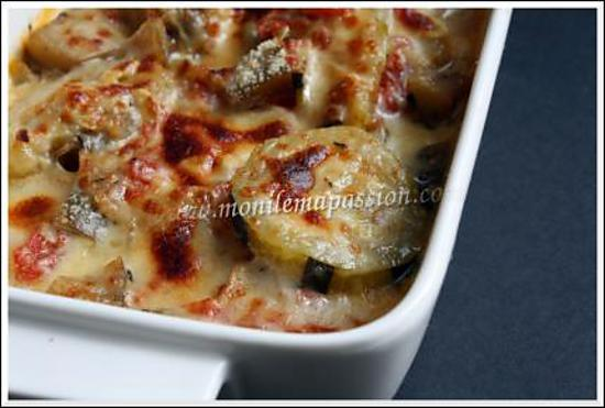 recette de gratin de courgettes et d 39 aubergines. Black Bedroom Furniture Sets. Home Design Ideas