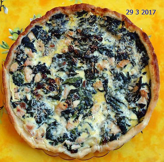 Recette De Tarte épinards Mozzarella - Cuisiner des epinards frais
