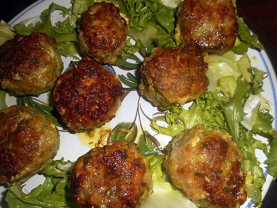 recette Boulettes de veau à la marocaine