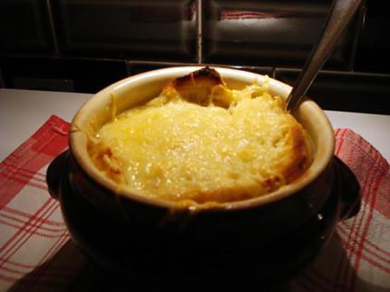 recette Soupe Gratinée à l'Oignon