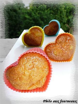 recette Muffins à l'ananas & aux carottes
