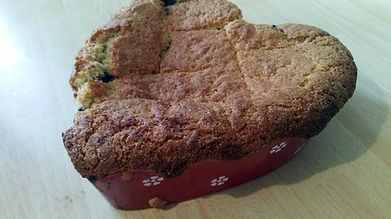 recette Cobbler pommes-framboises-myrtilles