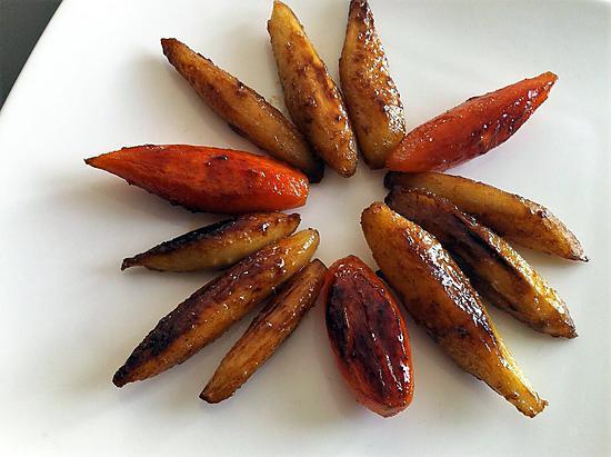recette Légumes tournés et glacés