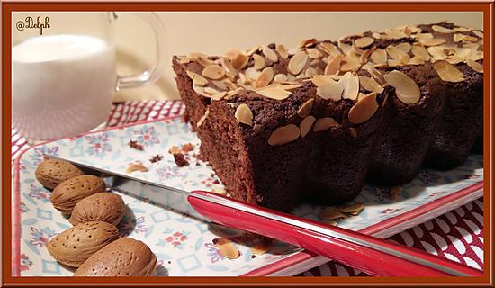 recette de cake au chocolat caramel et amande. Black Bedroom Furniture Sets. Home Design Ideas