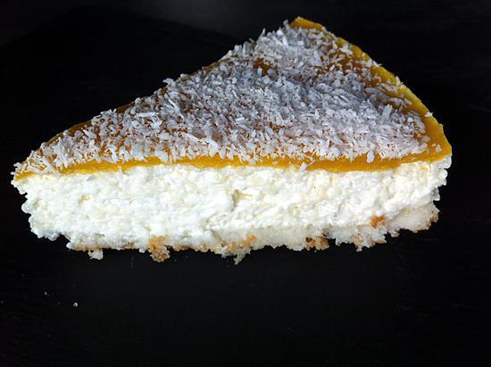 recette Bavarois ananas/coco et mangue