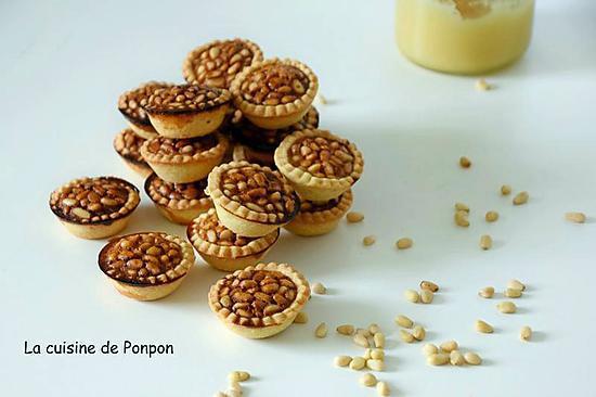 recette Pignoli ou mini tartelettes aux pignons