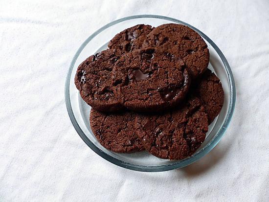 recette Sablés infiniment chocolat