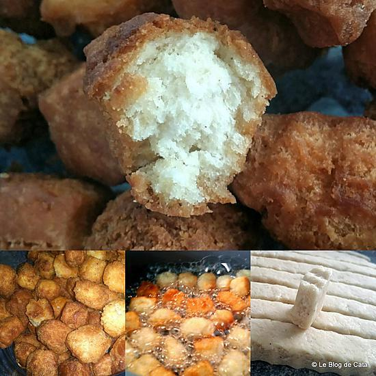 recette Croquettes africaines - du Mboa ou Chin Chin