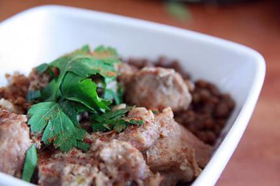 recette Ragoût de porc aux épices