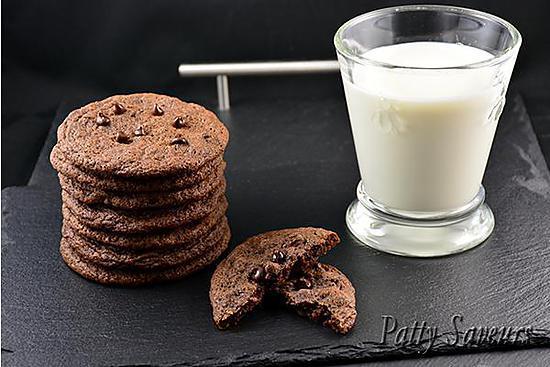 recette Cookies Double Chocolat aux Zestes d'Orange