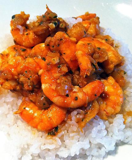recette Crevettes à l'aigre-douce (compatible dukan)