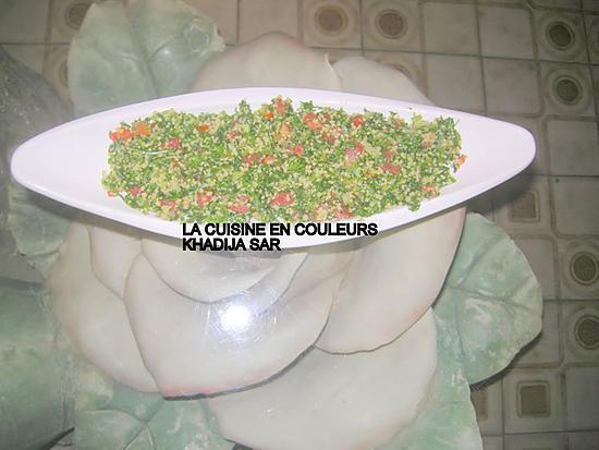 recette Taboulé