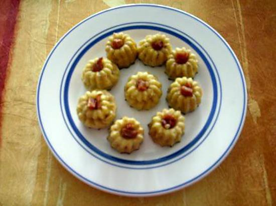 recette MINIS CANNELES CHORIZO-COMTE