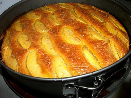Recette De Gâteau Brioche Poudre Damande Philadelphia Pommes