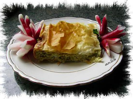 recette tiropita aux fromages