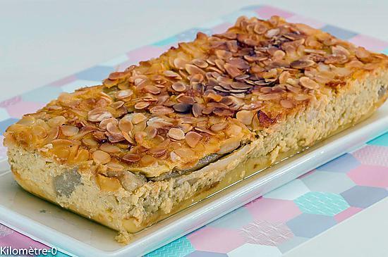 recette Flan aux poires et aux fleurs de sureau
