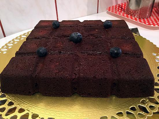 recette Moelleux chocolat au micro onde