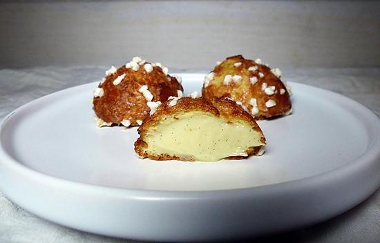 recette Choux vanille sans gluten et sans lactose