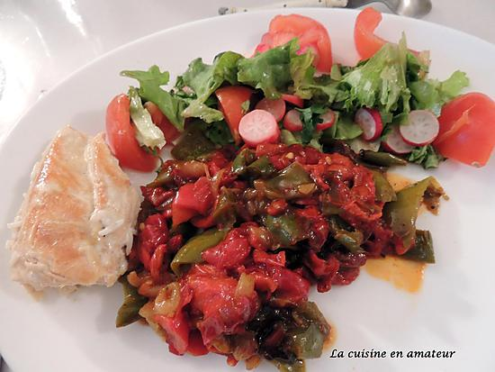 recette Trio de poivrons au paprika