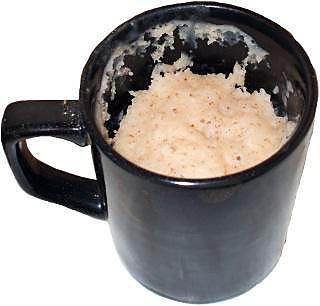 Recette de g teau la cannelle dans une tasse - Gateau dans une tasse ...