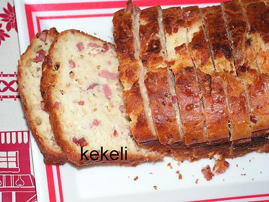 recette Cake aux lardons fumés