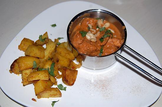 Recette de butter chicken et pommes de terre pic es du blog - Herve cuisine butter chicken ...