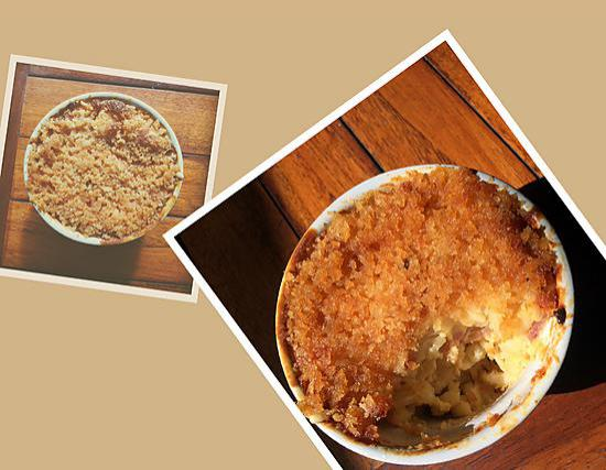 recette Le vrai Mac&Cheese NYC
