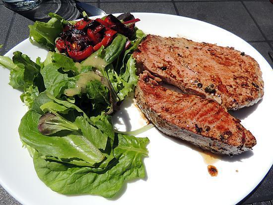 recette Thon mariné grillé au barbecue