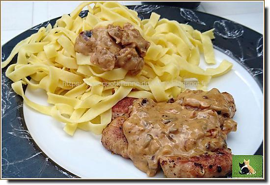 recette Ris de veau poché et grillé au barbecue