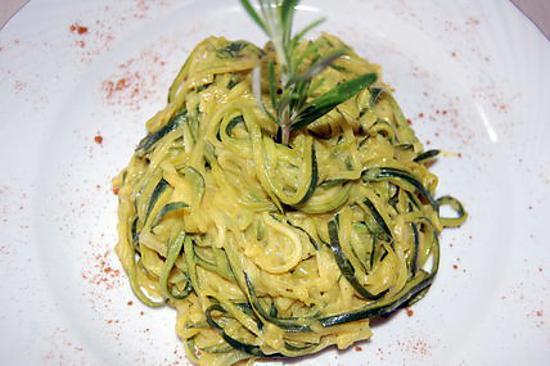 recette Spaghetti de courgettes du blog cccuisine.over-blog.com