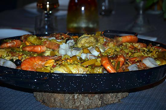 recette Paella andalouse