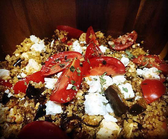 recette Taboulé au boulgour et quinoa