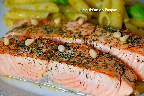 Recette de filet de saumon cuit basse temp rature - Cuisine basse temperature recettes ...