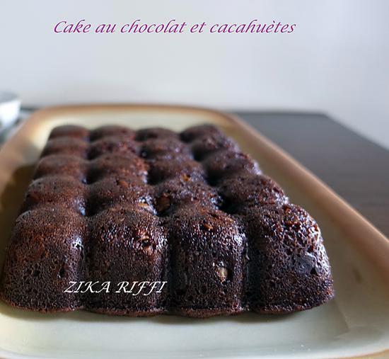 Batonnets Au Chocolat Et Aux Cacahuètes: Recette De CAKE AU CHOCOLAT ET AUX CACAHUÈTES