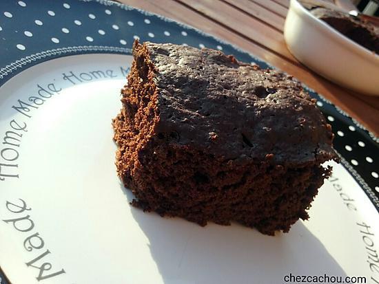 Recette de g teau chocolat la courgette cuisson au four for Cuisson betterave au micro ondes