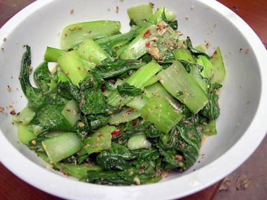 recette You cai mariné sauce asiatique