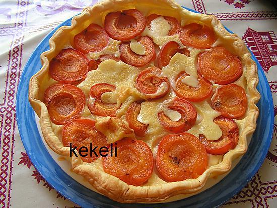 Recette de tarte aux abricots facile et rapide - Recette de tarte aux abricots ...