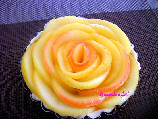 Recette De Tarte Pomme Rose Fleur Non Cuite