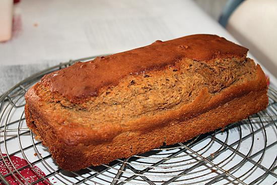 recette Cake au beurre de cacahuette